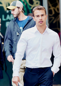 my scrumptious Theo in white<3