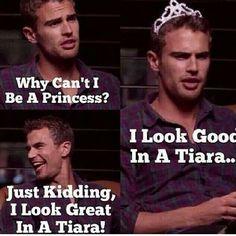 behold Princess Theo(rina)James...XD<3