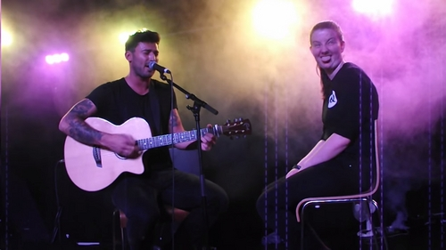 Me on stage with Jake Quickenden on 22nd July xD LOOOL
