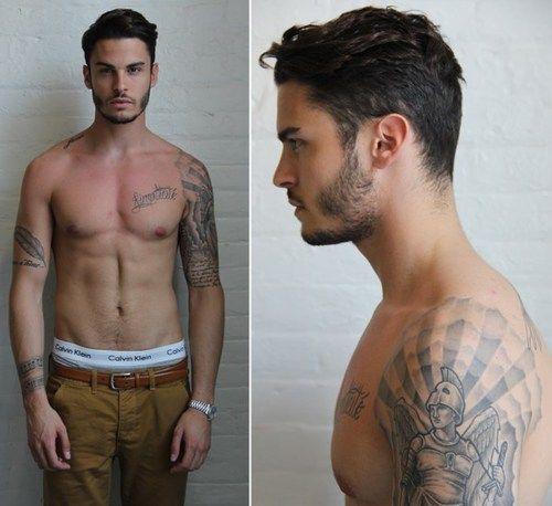 Baptiste's sexy tats<3