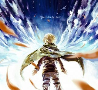 This fanart of Armin is really cool.