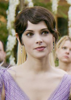 Alice Cullen from Twilight saga.She's my 2nd fave female character from Twilight.I adore her.I wish she was real,because I'd amor to have her for a sister.