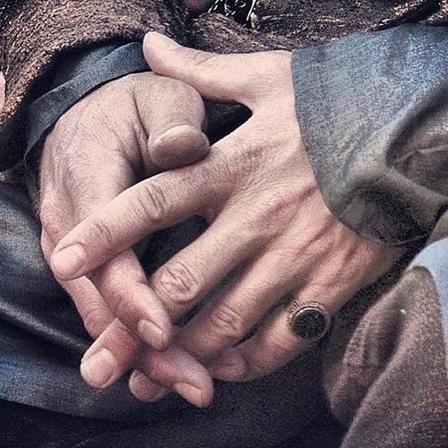Aidan's hands <3