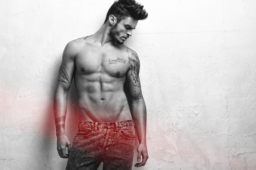 BG's hot abs