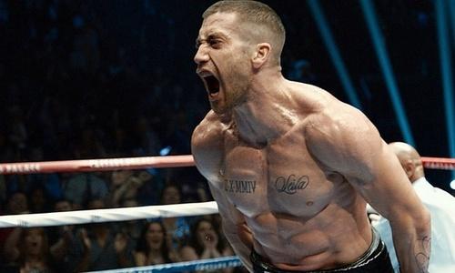 Gyllenhaal's neck veins