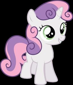 This pony. Sweetie Belle