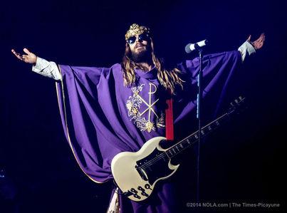 耶稣 Christ Super 星, 星级 rocking out
