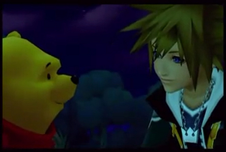 I adore him in every game he's in, but I think I'd have to say Kingdom Hearts II. He's such a sweet person, and II really captures that well.