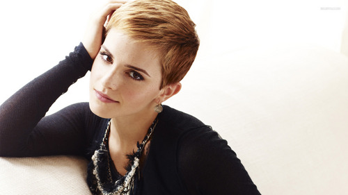 Emma with a pixie cut :) http://www.short-hair-style.com/emma-watson-short-hair.html http://hair.allwomenstalk.com/best-short-hairstyles-modeled-by-celebrities/4/ http://pixie-cropped.tumblr.com/post/36035357946 http://pixie-cropped.tumblr.com/page/236 (scroll down to pic #4)