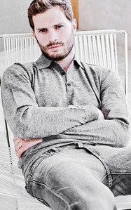 Jamie sitting on a chair<3