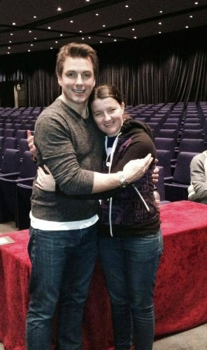 John Barrowman inspires me everyday to be a better person and to always be myself, no matter what anyone says<3