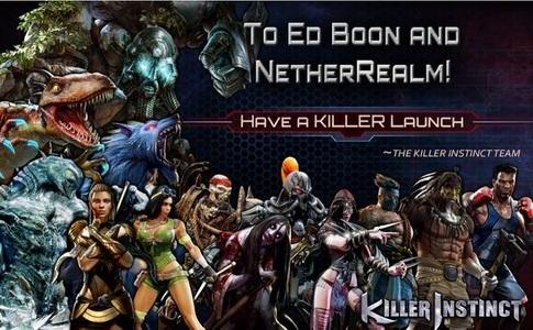 Killer Instinct for life! Long live Killer Instinct!
