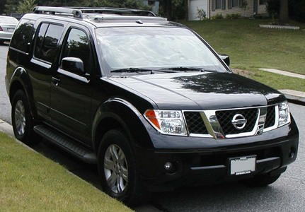My own Nissan Pathfinder