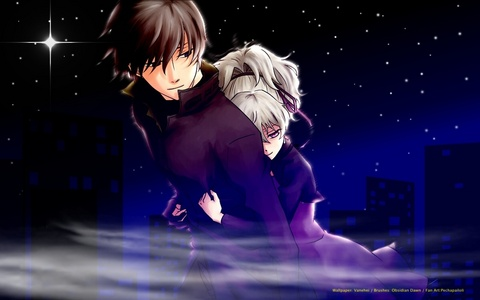 Hei and yin from darker than black~ :)