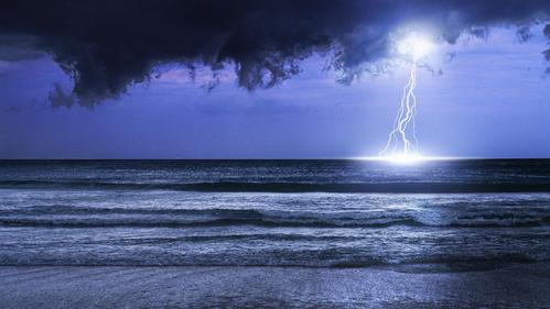 Thunderstorms & The Ocean