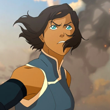 I was not a huge fan of either at first tbh, but Korra was much more likable in the final season of LOK. Maybe it was the hair, lol.