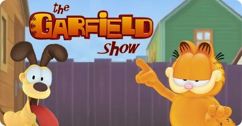The Garfield tunjuk