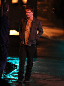 my handsome babe walking in a strada, via at nighttime<3