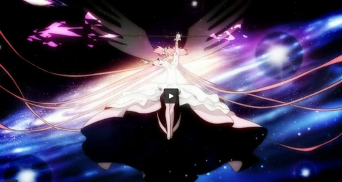 Madoka's magic is to take all of the despair/the black thing in the soul egg, and destroy them before the magic girls become witches in the past present and future. - To destroy witches before they are born in the past present future everywhere