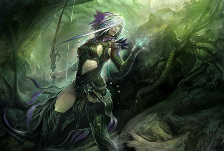 Sometimes I feel lame because I'm the only person here who talks about Guild Wars 2... But it's an amazing game, seriously. Like if you're willing to pay for it, do. It's fantastic. Here's some concept art from it. Fuckin rad. EDIT: This is Caithe, bởi the way. She's rad. I just realised that I forgot to mention her name.