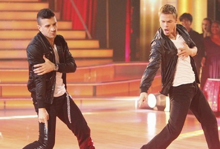 Derek and Mark dancing :)