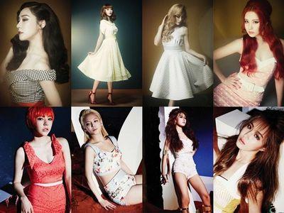 Me: 1.Taeyeon 2.Yuri 3.Seohyun 4.Yoona 5.Tiffany 6.sunny 7. Hyoyeon 8. Sooyoung