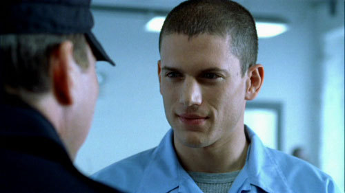 Michael in prison break ..he's so handsome and intelligent but not my type because he was in jail