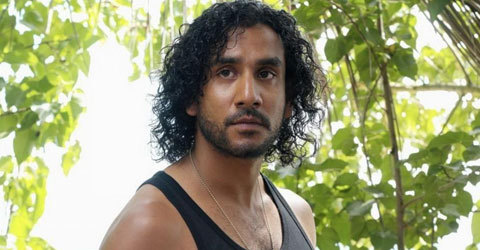 Naveen Andrews from Lost I LOVED THE SHOW,but his character I didn't really much care for