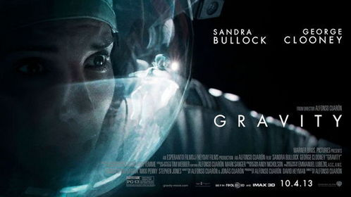 Gravity,with Sandra Bullock and George Clooney.I saw it at the drive-in with my friend and we both found it VERY boring.It was a snoozefest and not worth the $7 to see it
