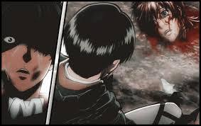 """""""So Ist Es Immer"""" Anime: Attack on Titan/Shingeki No Kyojin Episode: OVA/ Episode 4&5 / """"No Regrets""""  *SPOILER ALERT! This story made me cry so bad! This story was about Levi with his 2 close friends..... this story shows about making regrets when Levi saw his friends' death........"""
