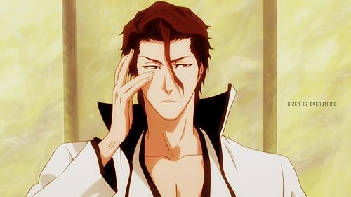 Souske Aizen (Bleach) He claims himself as a god.........he he ehee