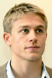 Hunnam with blonde hair<3
