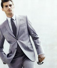 Mr.Grey(aka Jamie Dornan) in grey<3