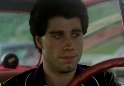 John in a car :)