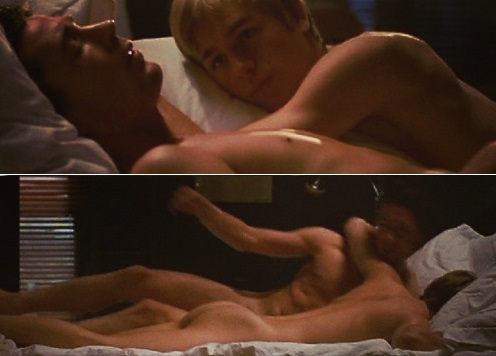 Aidan in بستر with Charlie Hunnam