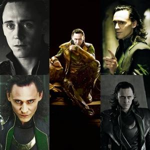 Tom Hiddleston as the villainous Loki