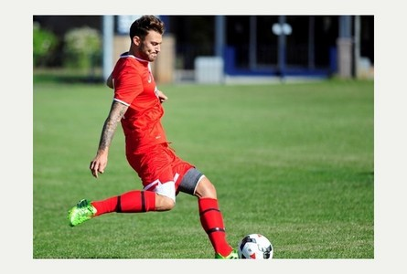 Jake Quickenden playing football <3
