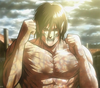 Eren from Attack on Titan and transform into a Titan, so that's pretty cool