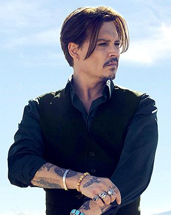 Johnny Depp...I just don't find him hot at all