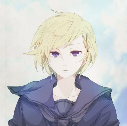 Norway from Hetalia because this is so pretty :D