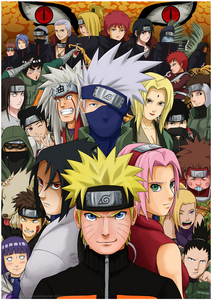 My favoriete anime series is Naruto/Naruto Shippuden~ ♡ I know it's not perfect and that it has many flaws, but that alone doesn't stop it from being an awesome anime! It guided me when I was younger, it was my very first anime ever. And it's not really my favoriete because of nostalgic reasons, I know there are many good series out there that are new, but it's my favoriete because it's because no other series has taught me as much and made me become so attached to the characters and made me feel as much emotions. There have been some, but this one tops them all. I bet that if I watch this anime for the first time right now, my opinion of it wouldn't change. That's how good it is to me. P.S. I even watch the filler (although some of it is kinda... weird.) Good day~
