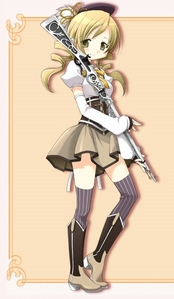 Mami Tomoe would kick krout ezel in WWI.