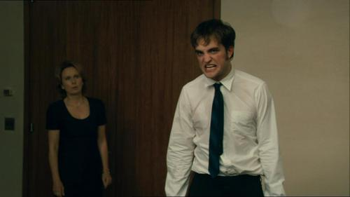 my sexy angry babe in a scene from Remember Me<3