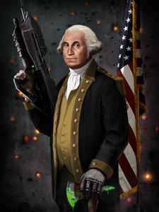 Yeah, George Washington, I'm his daughter. Yep, I really am. :P