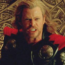 RUN RUN thor is angry!!