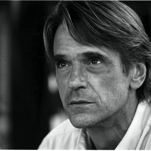 Jeremy Irons with distinguished wrinkles