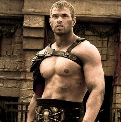 Kellan's mighty fine biceps<3
