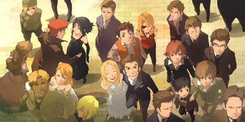 Baccano! takes place mostly in a fictional USA