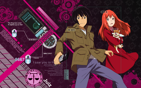 Much of the setting for Eden of the East takes place in the United States