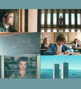 my handsome babe standing द्वारा the window in a scene from Remember Me<3